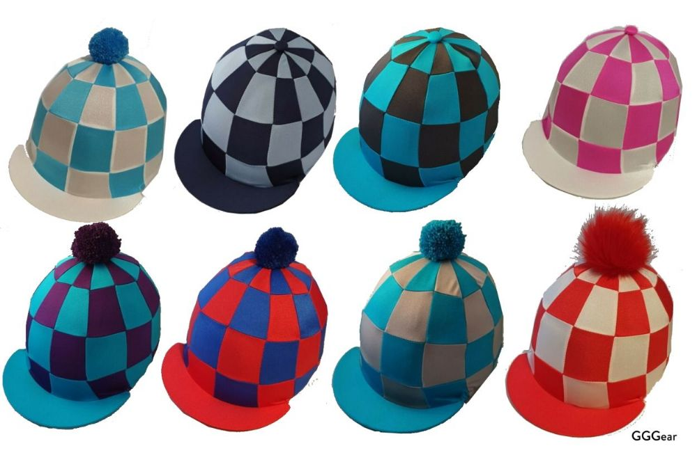 Checked Premium Hat Silk